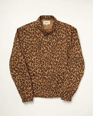 shop the look: Leopard bomber jacket