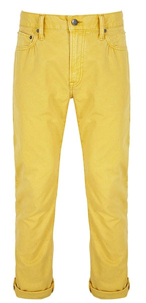 shop the look: Slim Canvas trousers