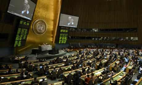 UN general assembly approves international arms treaty