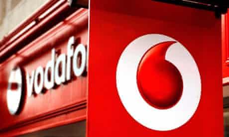 Vodafone mobile phones takeover verizon