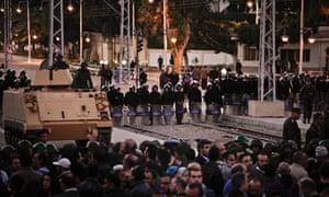 Anti-Muslim Brotherhood protest