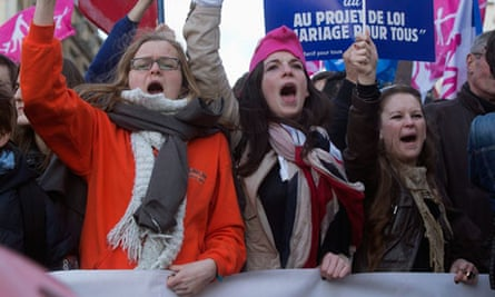 paris anti gay marriage demo