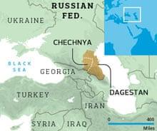 Dagestan locator