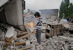 Dan Chung in China: Zhang Yichuan stands on the ruins of the house where her mother died