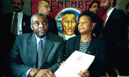 Stephen Lawrence's parents, Neville and Doreen