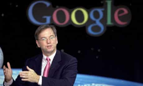 Eric Schmidt defends Google tax affairs, saying firm was key to UK growth