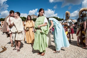 The birth of Rome: Romans Celebrate the 2,766th Anniversary of Their City