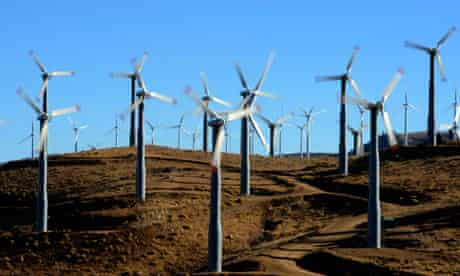 Wind Farms California