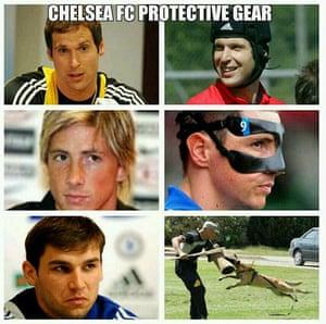 Suárez bite memes: Chelsea protection