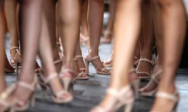legs shoes