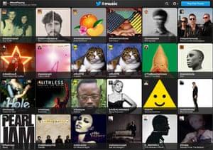 Twitter #music website