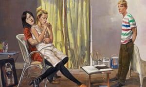 BP Portrait Award 2013: The Uncertain Time by John Devane