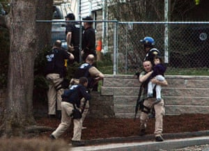 Boston bombings timeline: Police try to capture a suspect in Watertown