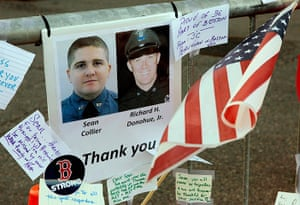 Boston bombings timeline: A tribute to the police officers