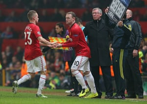 Title race gallery: Wayne Rooney