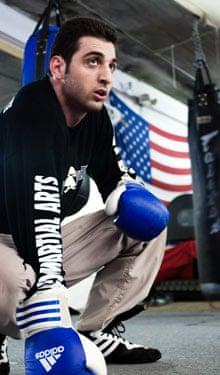 Tamerlan Tsarnaev boxing