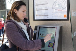 Smart Cities Gallery 1: Smart Cities: A woman gives a phone call at a new gene