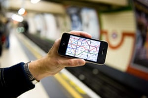 Smart Cities Gallery 1: Smart Cities: iPad And iPhone Location - London