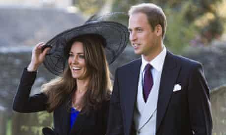 Duke and Duchess of Cambridge Harry Meade wedding
