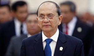 Burma's president Thein Sein