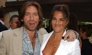 Mat Collishaw and Tracey Emin in 2005