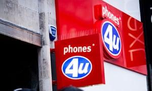 Phone 4U sign