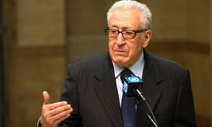 The UN-Arab League joint special representative for Syria, Lakhdar Brahimi.