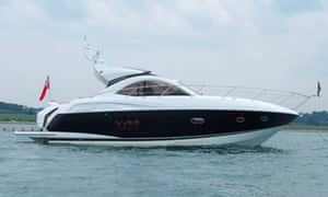McCormick's yacht