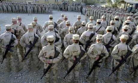 US soldiers Bagram airbase