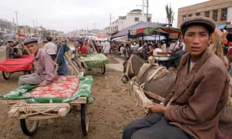 Kashgar in Xinjiang province