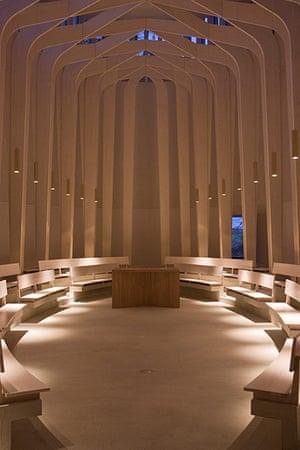 Bishop Edward King Chapel: Bishop Edward King Chapel interior