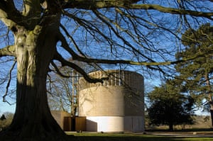 Bishop Edward King Chapel: Bishop Edward King Chapel with tree