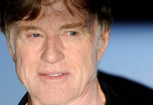Talking of preservation, doesn't Robert Redford look good for 76! Here he is at the launch of the Sundance London Festival at the O2 Arena today. In the Observer last Sunday, awesome film critic Philip French gave us his top 10 Redford films - have a look here.