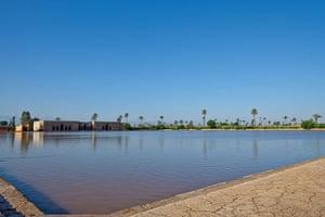 Marrakech gardens: Badi Palace