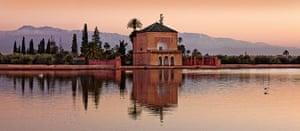 Marrakech gardens: Menara