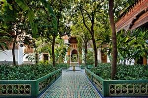 Marrakech gardens: Bahia Palace