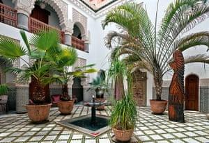 Marrakech gardens: Riad Enija