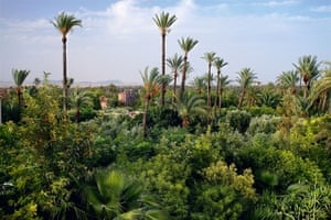 Jnane Tamsna hotel, Marrakech