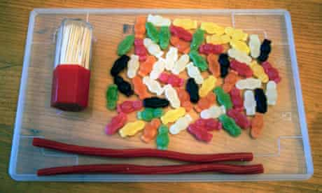 How to make a jelly baby DNA molecule