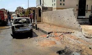 syria damascus bomb