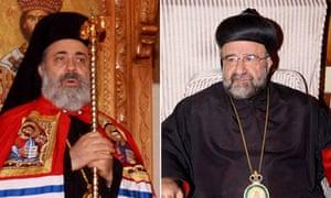 Bishop Boulos Yaziji and Bishop Yuhanna Ibrahim