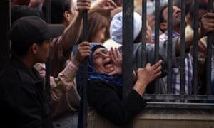 judicial demonstration in Cairo