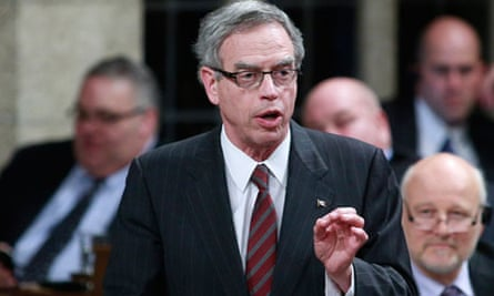 Joe Oliver, Canada's minister of natural resources