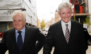 The BBC's Lord Patten and Tony Hall