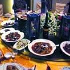 Zhang Aihua's lavish party food