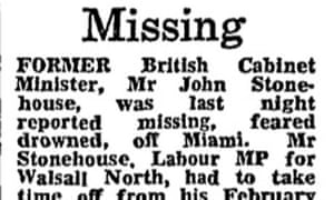 Stonehouse missing 1974
