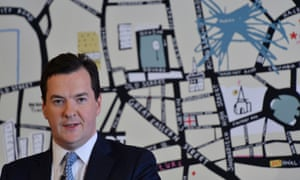 Britain's Chancellor of the exchequer George Osborne speaks during a news conference at an event to celebrate British entrepreneurship, in east London April 25, 2013.