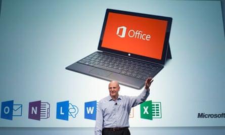 Steve Ballmer Microsoft Office 365