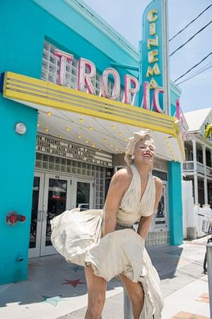 Key West City Guide: Marilyn Monroe statue in Key West