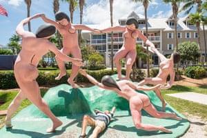 Key West City Guide: nude statues in Key West